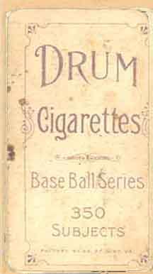 Drum Cigarettes - Wiltse
