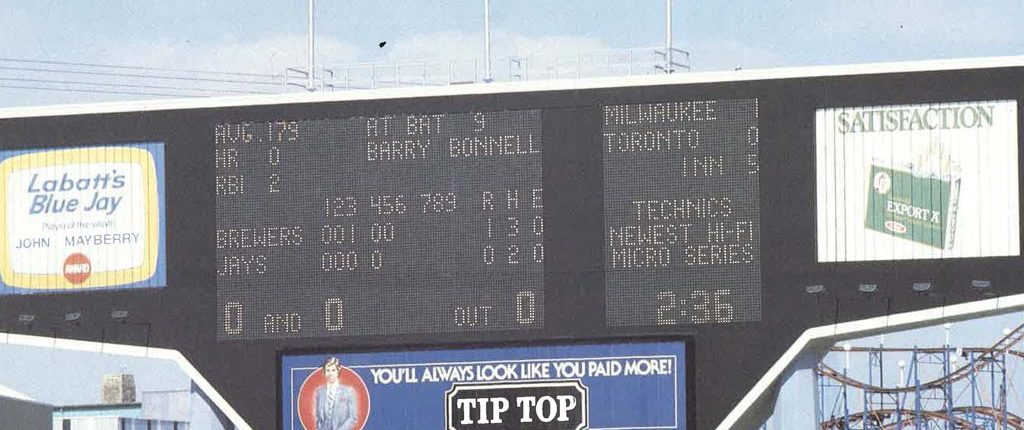 Exhibition Stadium (Toronto) - Export A - Take Me Out to the Ball Park - The Sporting News - 1989