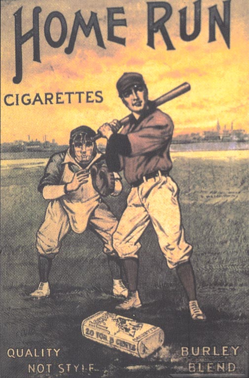 Home Run Cigarettes - American Tobacco Company - 1910