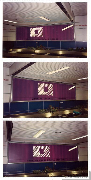 Silk Cut - Advertisements - Airport Baggage Claim