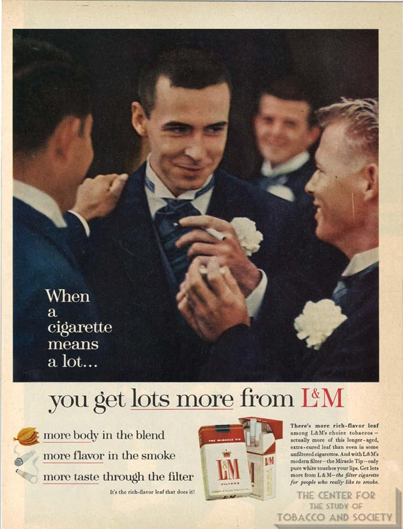 When a Cigarette Means a lot - Advertisement - Liggett and Meyers - Circa 1960s