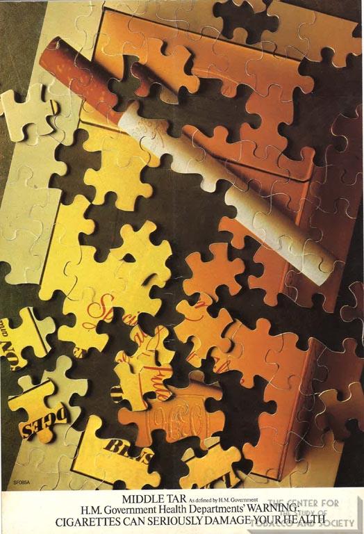 n.d. - Benson & Hedges - Incomplete Puzzle