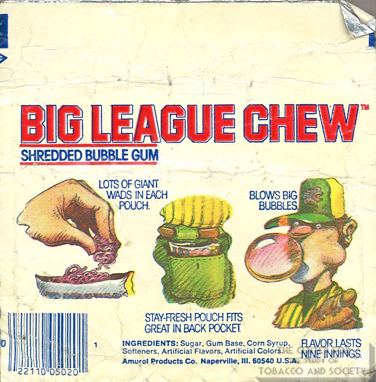 n.d. - Big League Chew - Flavor Lasts Nine Innings (Back)