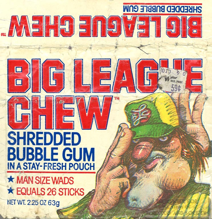 n.d. - Big League Chew - Shredded Bubble Gum (Font)