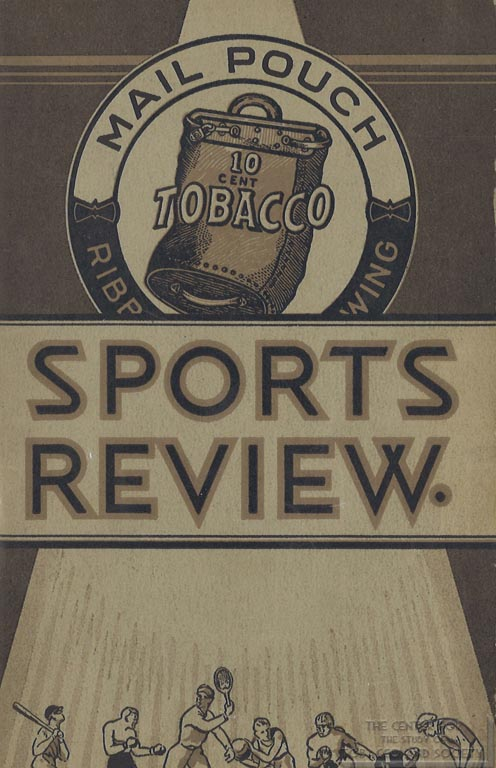 1933 - Mail Pouch Tobacco - Sports Review