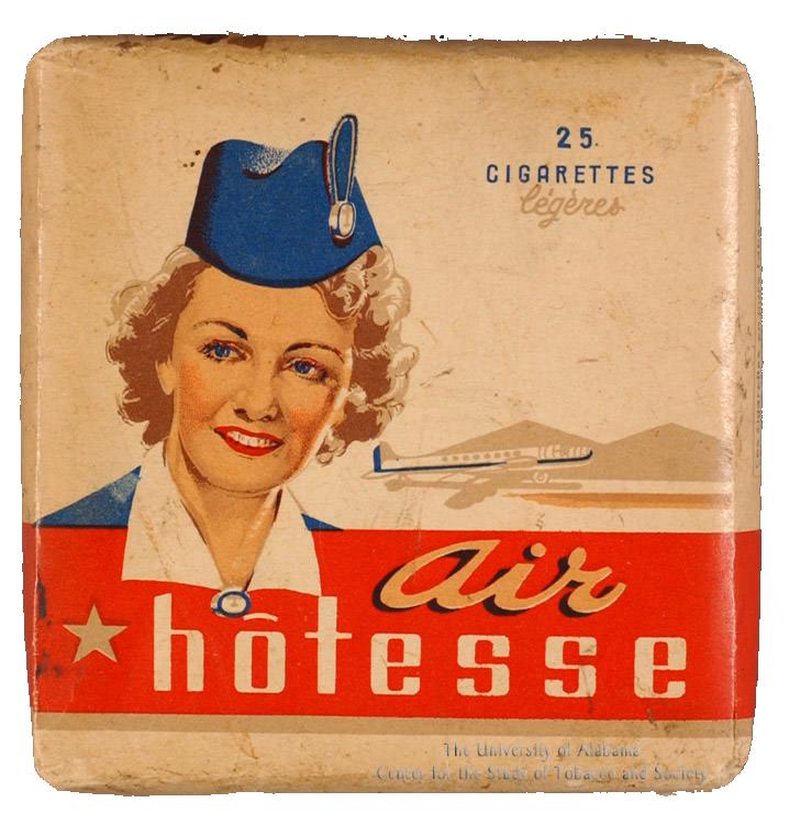 n.d. - cigarette pack - Air Hostess Cigarettes