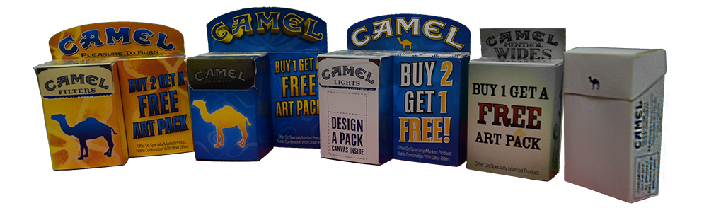 Camel Art Pack Lineup