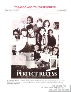1986- Tobacco & Youth Reporter - Tobacco Advertising in the US