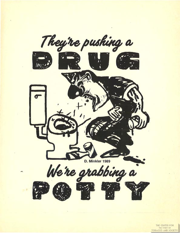 1989- DOC Poster - Pushing a Drug, Grabbing a Potty