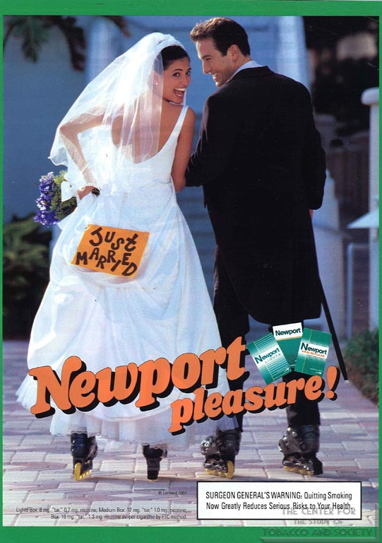 2001 - Lorillard - Newport - FHM - Just Married
