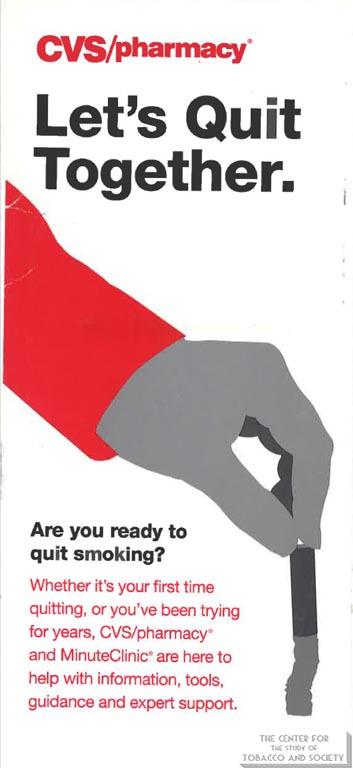 n.d. - Brochure - CVS - Let's Quit Together
